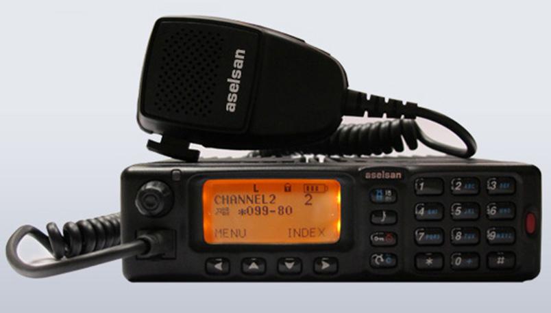 4721 VHF DMR Araç Telsizi